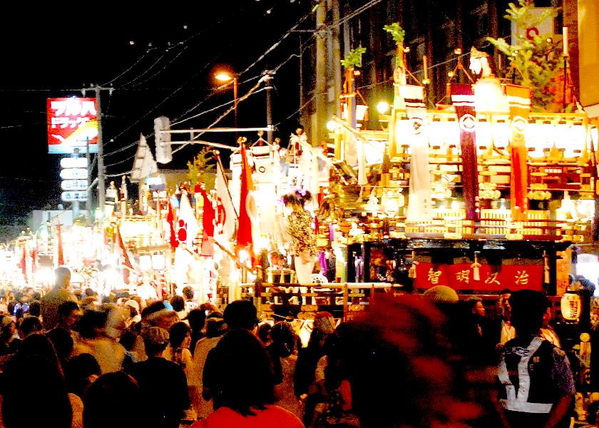 江差姥神大神宮渡御祭|函館観光