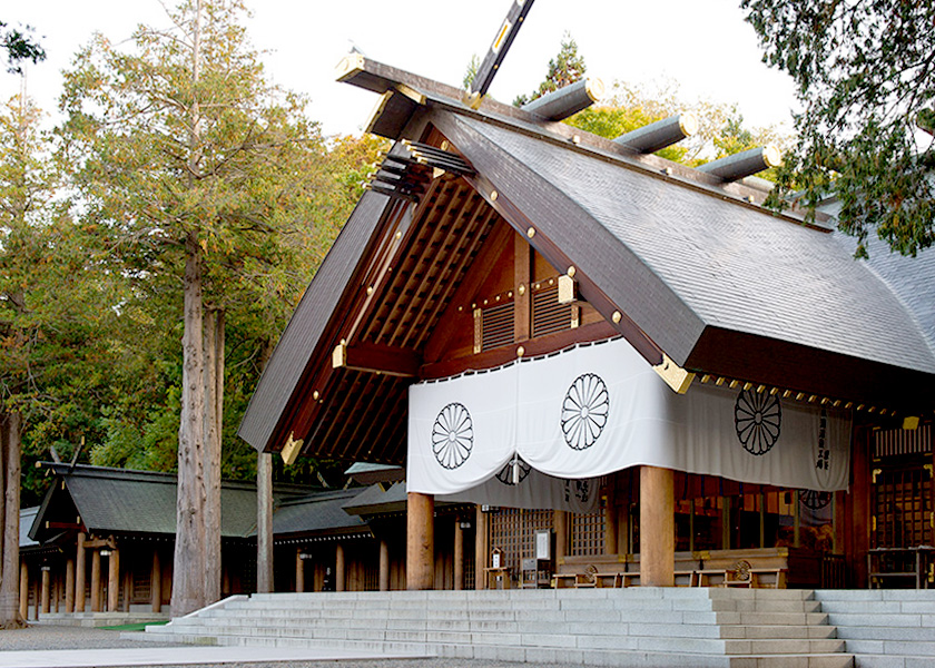 北海道神宮 札幌千歳観光