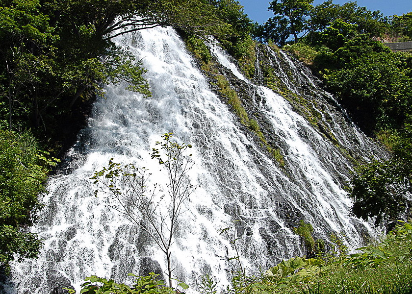 オシンコシンの滝|知床羅臼観光