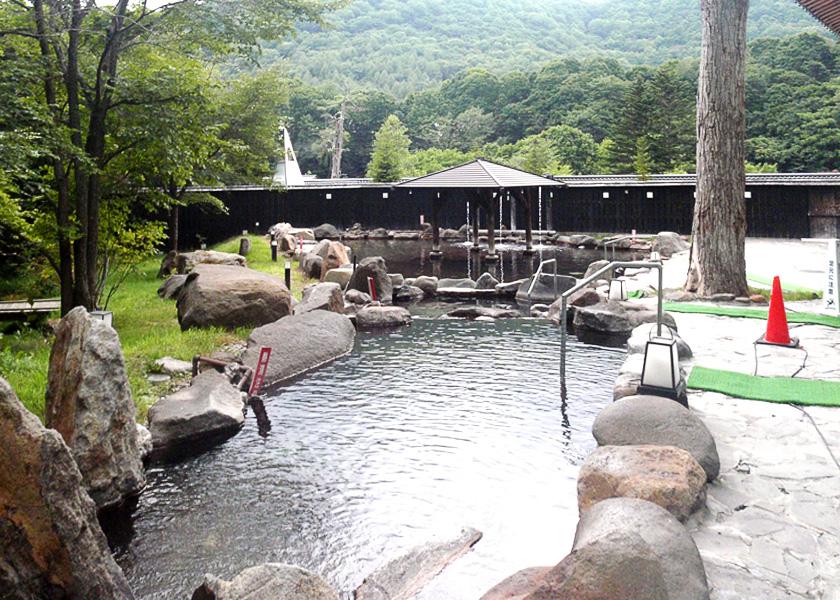 北湯沢温泉 白絹の床|登別洞爺観光