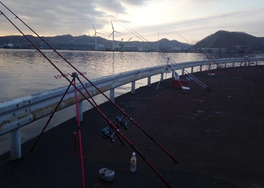 室蘭漁港|北海道の釣り場