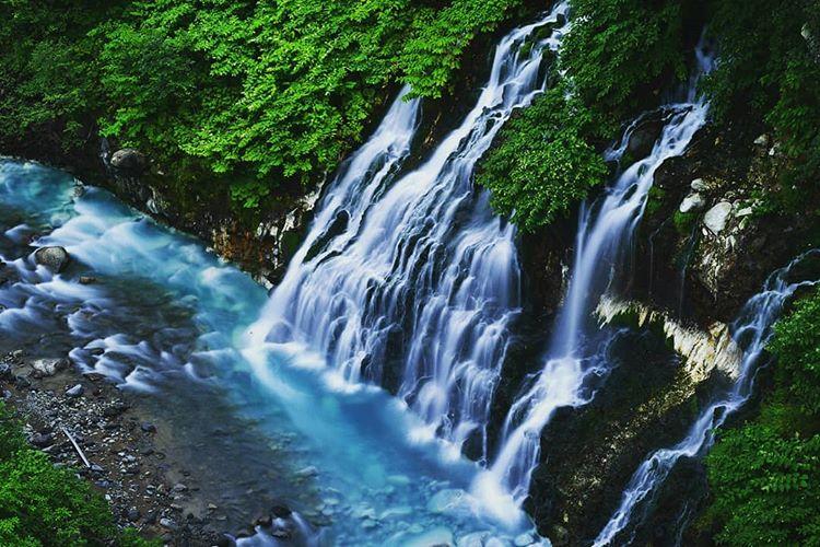 白ひげの滝でSNS映えを狙おう