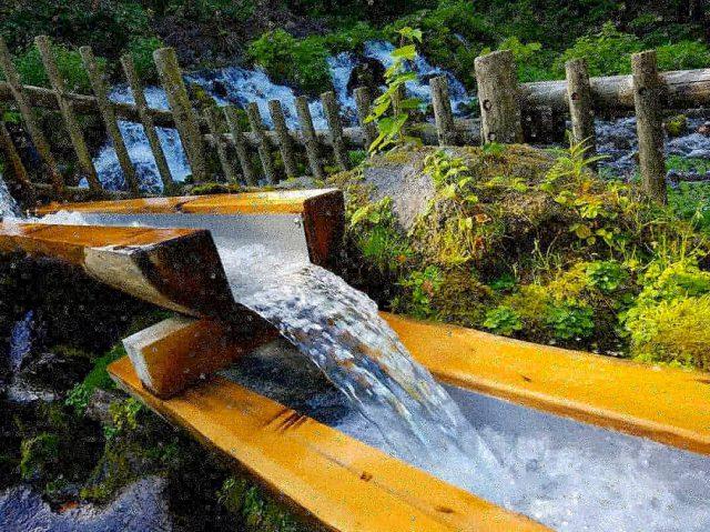 京極ふきだし公園で名水と絶景を楽しもう!